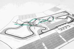Схема траси повітряної гонки