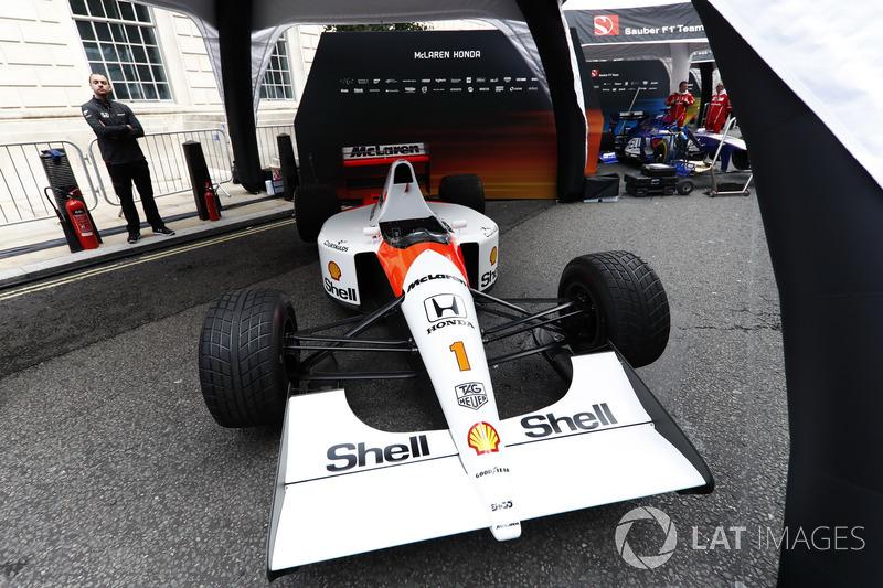 1991 McLaren Honda MP4/6