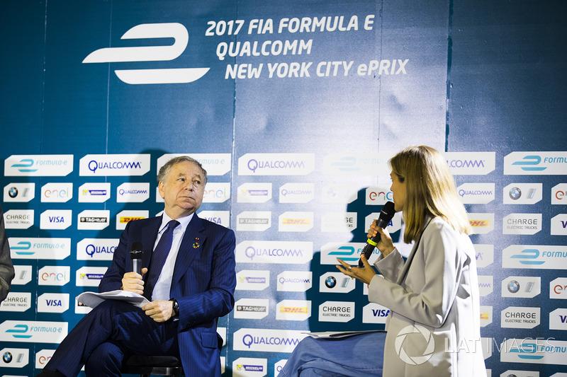 Jean Todt en la conferencia de prensa