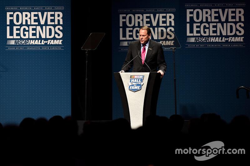Winston Kelley, NASCAR Hall of Fame