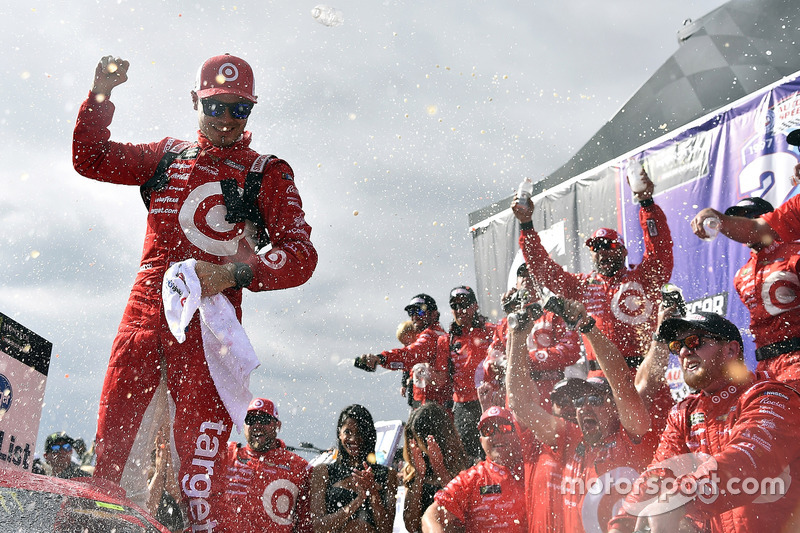 1. Kyle Larson, Chip Ganassi Racing. Chevrolet