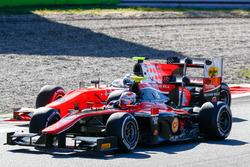 Alexander Albon, ART Grand Prix et Jordan King, MP Motorsport
