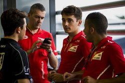 Nyck De Vries, Racing Engineering, Charles Leclerc, PREMA Powerteam, Antonio Fuoco, PREMA Powerteam