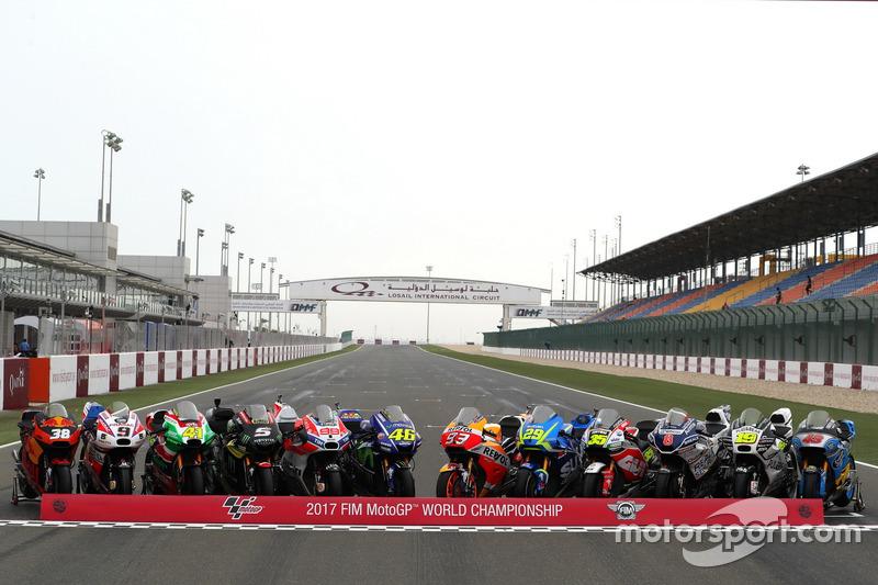 Line-up motor MotoGP 2017
