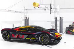 Aston Martin RB 001 in Red Bull Racing livery