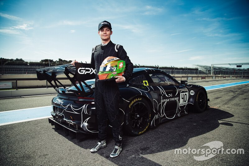 Anuncio Louis Deletraz GPX Racing