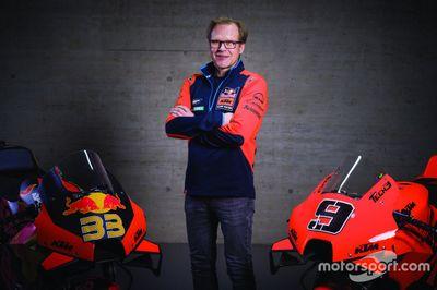 KTM Racing lansman