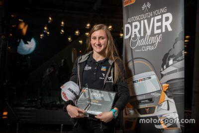 Cerimonia della Young Driver Challenge 2019