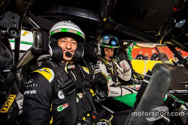 Daniel Ricciardo Supercars teszt