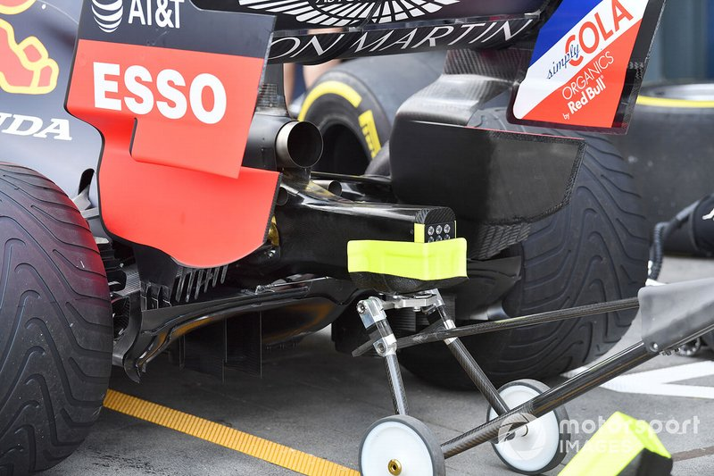 Red Bull RB15: Diffusor