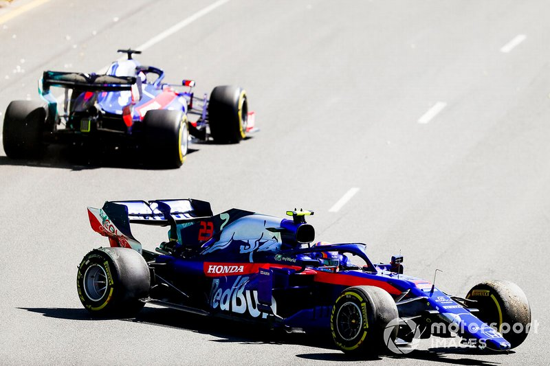 Александр Элбон, Toro Rosso STR14, Даниил Квят, Toro Roso STR14