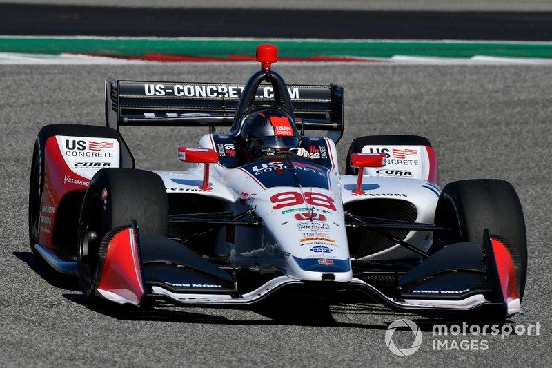 #98: Marco Andretti, Andretti Herta Autosport, Honda