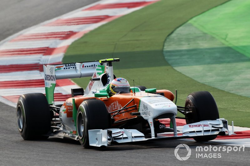 First race in India (2011 Indian Grand Prix)