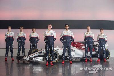 Presentación del Sauber Junior Team