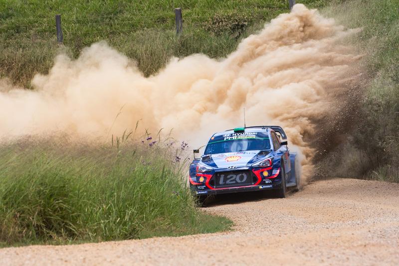 Хейден Паддон, Себастьян Маршаллl, Hyundai i20 WRC, Hyundai Motorsport