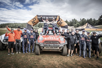 #300 Orlen Team / X-Raid: Jakub Przygonski, Tom Colsoul, #307 X-Raid Mini John Cooper Works Buggy Team: Carlos Sainz, Lucas Cruz, #309 X-Raid Mini John Cooper Works Buggy Team: Cyril Despres, Jean-Paul Colet