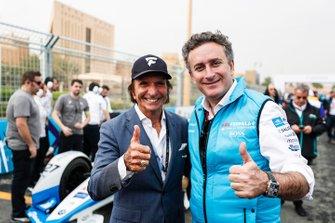Alejandro Agag, CEO, Fórmula E, Emerson Fittipaldi
