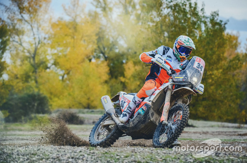 #34 KTM Racing Team: Mario Patrao