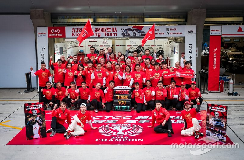 Kia Racing Team China, foto di gruppo