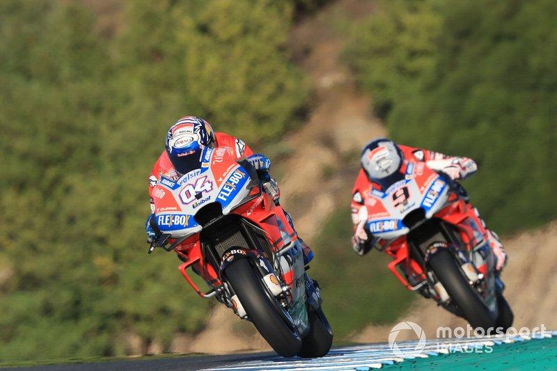 Andrea Dovizioso, Ducati Team, Danilo Petrucci, Ducati Team