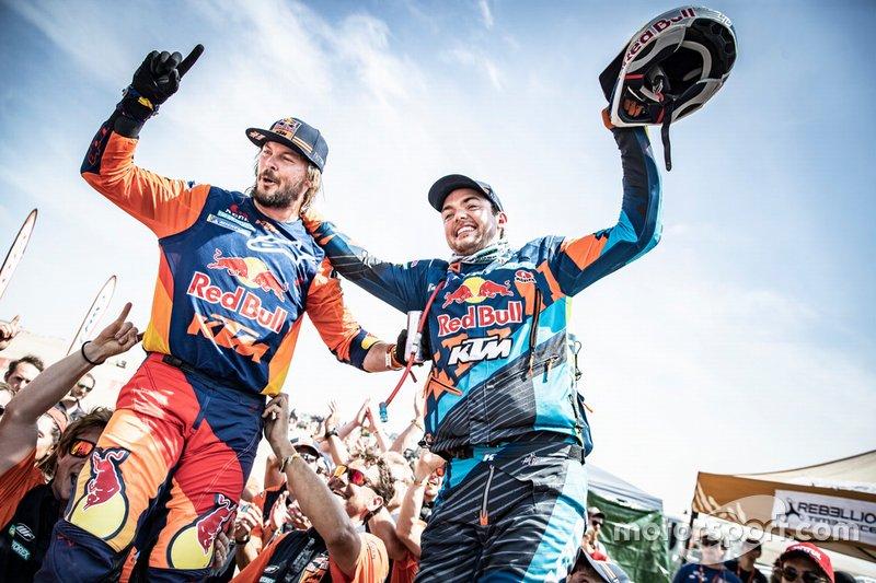 Los ganadores de KTM