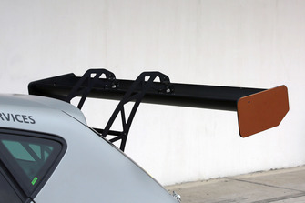 Cupra Leon-TCR, dettaglio dell'alettone posteriore