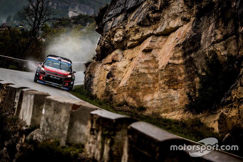 Крейг Брин и Скотт Мартин, Citroën World Rally Team Citroën C3 WRC