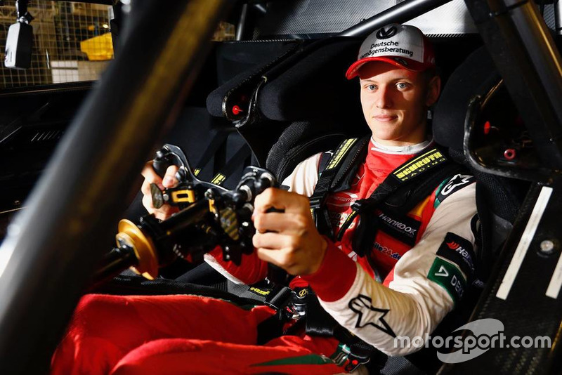 Mick Schumacher in the Mercedes-AMG C63 DTM
