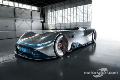 Mercedes EQ Silver Arrow unveil