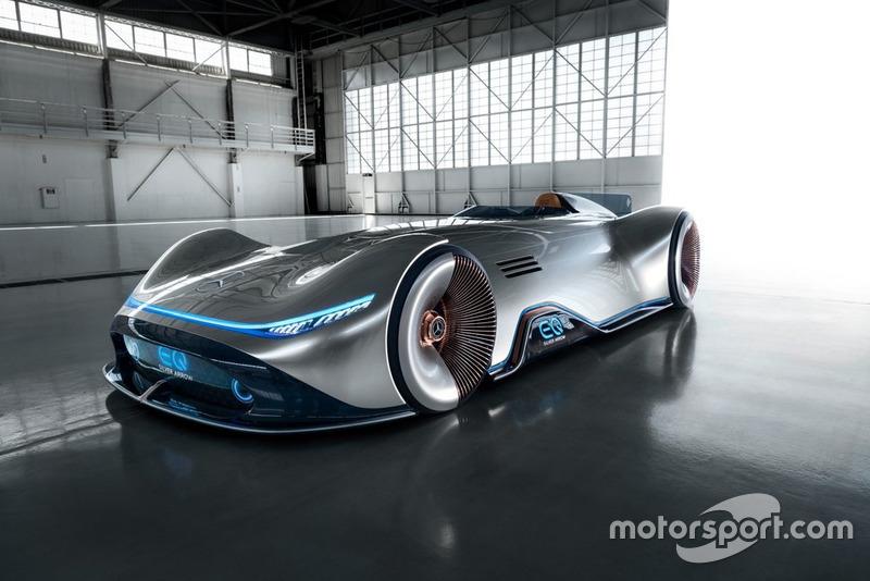 Mercedes EQ Silver Arrow tanıtımı