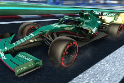 Livrées F1 dans Rocket League