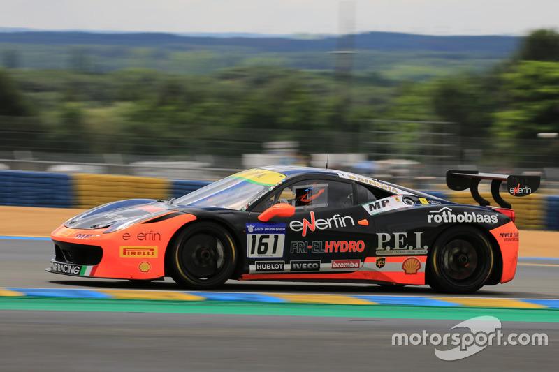 #161 Ineco - MP Racing Ferrari 458 Challenge Evo: Thomas Gostner
