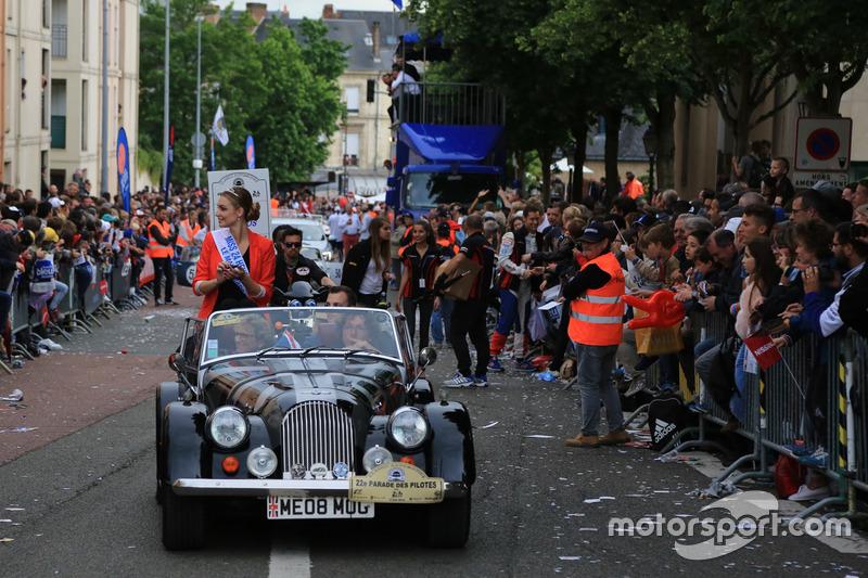 Cécile Fourrier, Señorita 24 Horas de Le Mans 2016