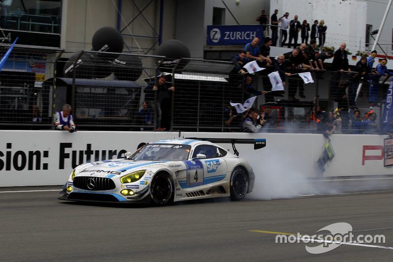 2016: #4 AMG-Team Black Falcon, Mercedes-AMG GT3
