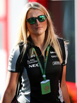Victoria Helyar, Sahara Force India F1 Team