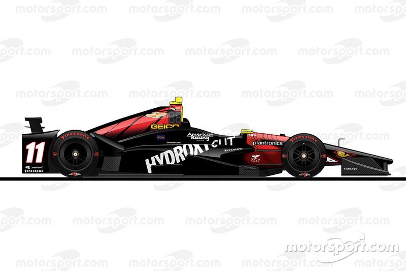 Startposition 19: Sébastien Bourdais (KV-Chevrolet)