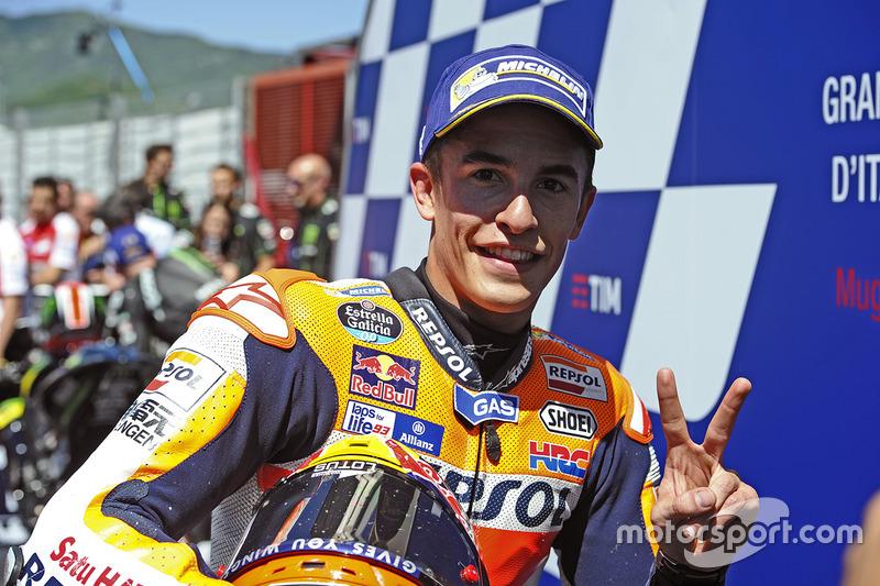 Segundo lugar Marc Márquez, Repsol Honda Team