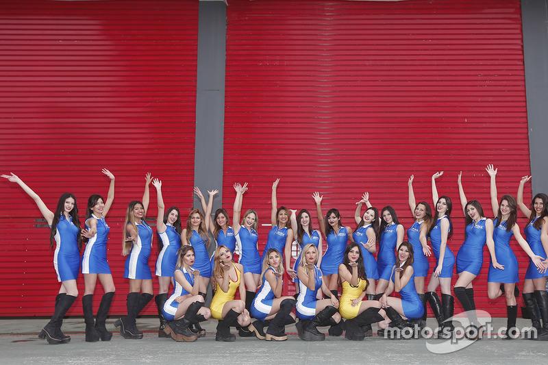 Grid girls WTCC