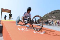 Alex Zanardi bei den Paralympics in Rio de Janeiro 2016