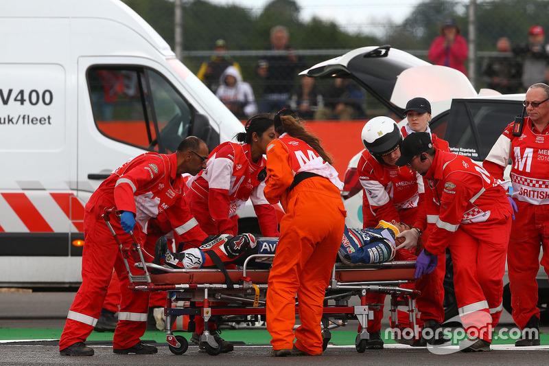 Loris Baz, Avintia Racing nach dem Crash