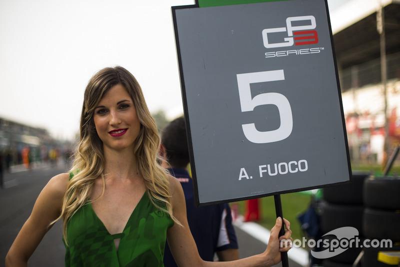 Grid girl for Antonio Fuoco, Trident