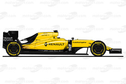 Renault RS16 final livery