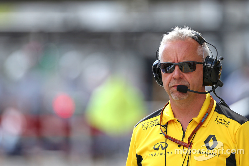 Paul Seaby, Renault Sport F1 Team