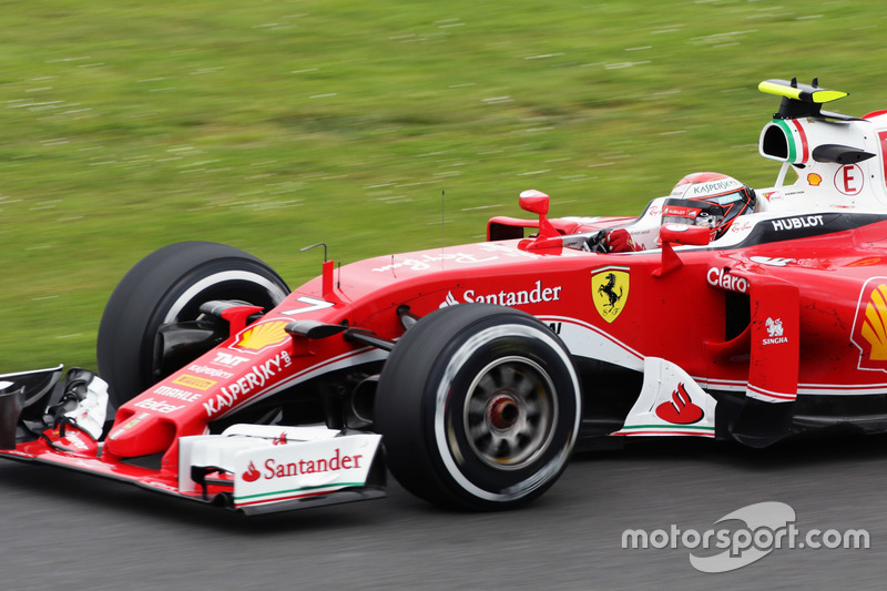 Kimi Raikkonen Ferrari SF16-H
