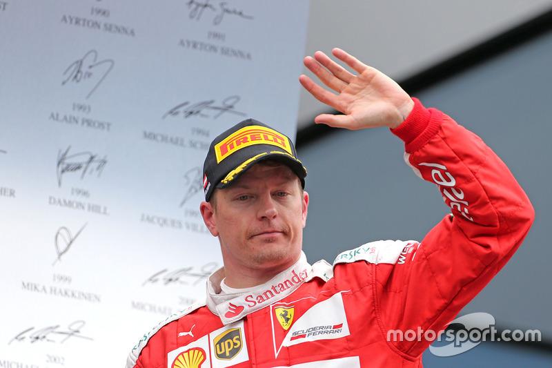 Kimi Räikkönen verlängert seinen Vertrag
