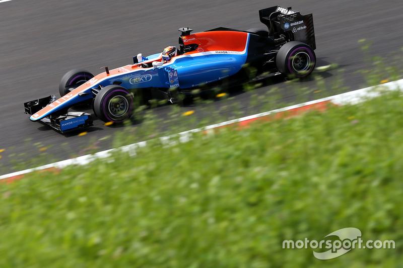 12: Паскаль Верляйн, Manor Racing