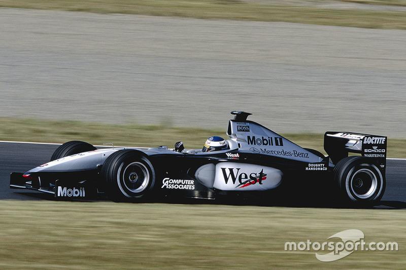 45º: McLaren MP4/14 (1999)