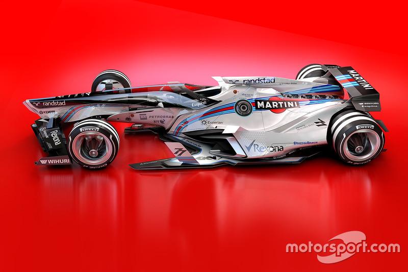 Williams 2030 diseño futurista