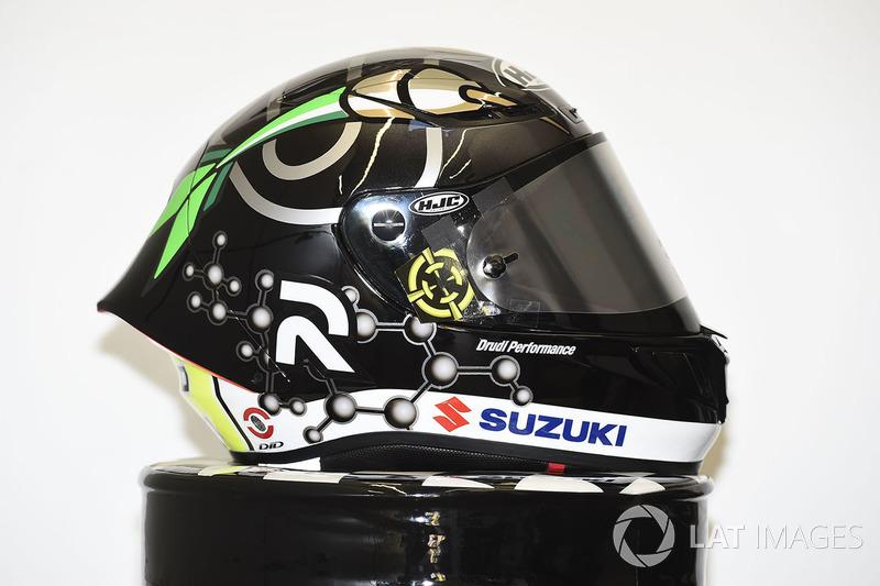 Helm spesial Andrea Iannone, Team Suzuki MotoGP
