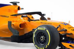 Halo de la McLaren MCL33